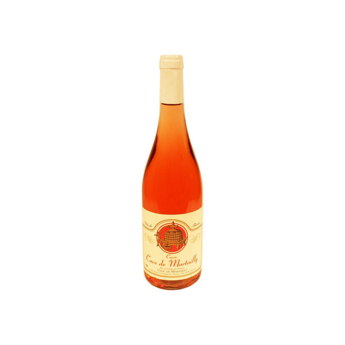 Vin de France 12° Rosé cuvée de Martailly